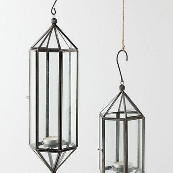 Hundi Glass Bell Hanging Lantern