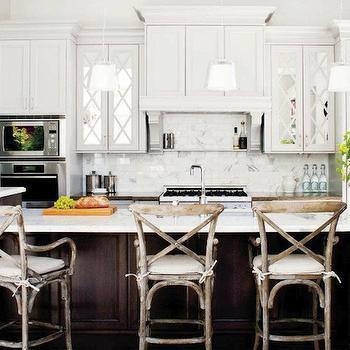 kitchens - white quartz countertops