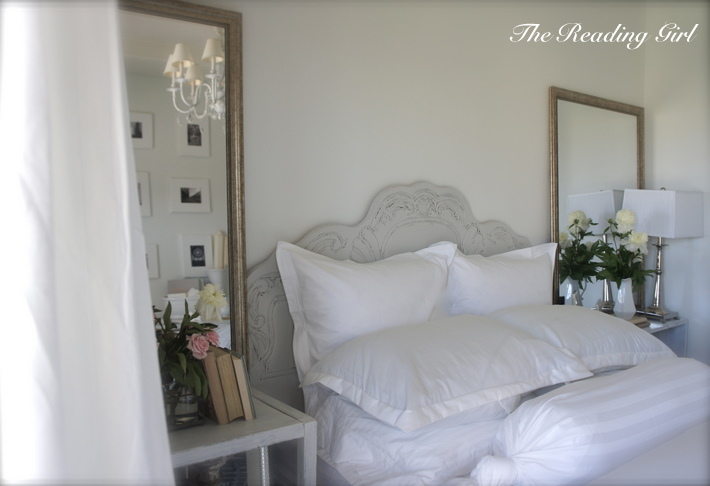 Shabby Chic Headboard Cottage Bedroom The Reading Girl