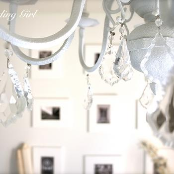 Crystal chandelier design ideas shabby chic chandelier aloadofball Image collections