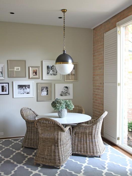 Trellis Rug Cottage Dining Room Kristen Nix Interiors