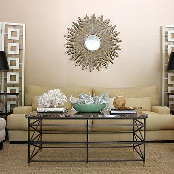 Yellow Sofa, Contemporary, living room, Kristen Nix Interiors