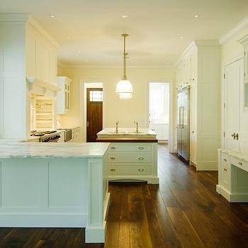 Kitchen Peninsula Prep Sink Design Ideas