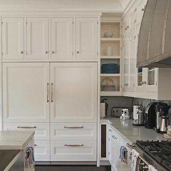 Cabinets Over Refrigerator, Transitional, kitchen, Bakes and Company