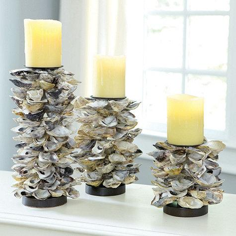 Oyster Shell Candle Holders Ballard Designs