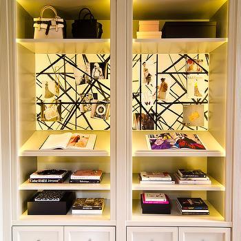 Walk In Closet Shelving, Contemporary, closet, Catherine Kwong Design