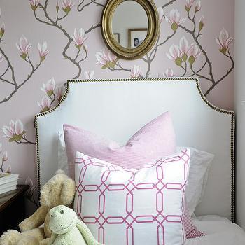 Pink Girl's Room, Transitional, girl's room, Kerrisdale Design