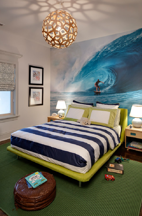 Surfer Themed Boy S Room Design Ideas