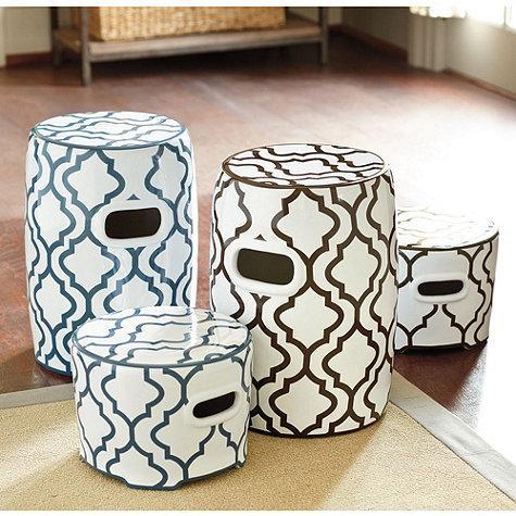 Ceramic Garden Seat Ballard Designs