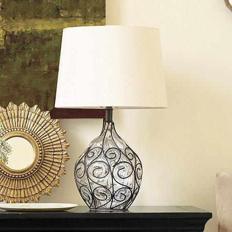 Marrakesh Onion Table Lamp   Ballard Designs