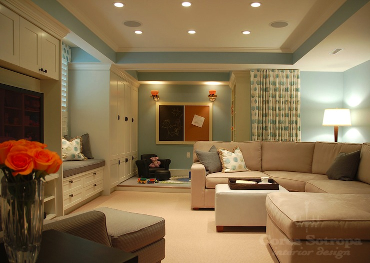 Basements Family Room In Basement