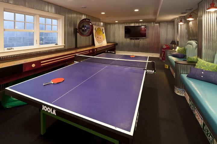 Basement Game Room Design Ideas