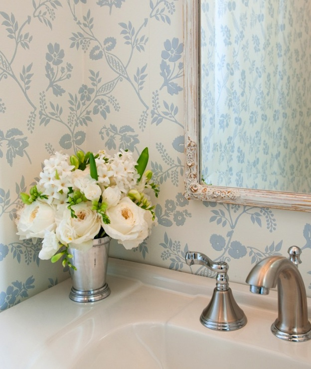 Shabby Chic Powder Room