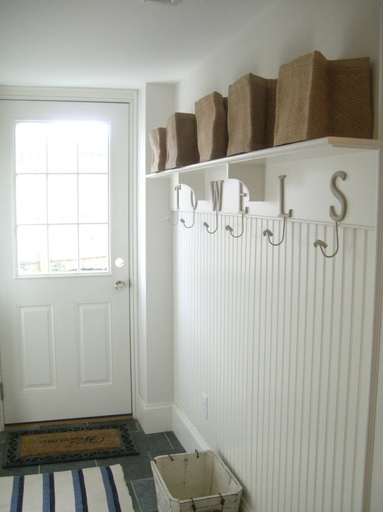 Mudroom Paneling Design Ideas
