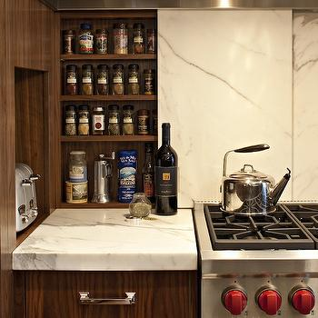 Hidden Spice Cabinet, Contemporary, kitchen, Corea Sotropa Interior Design