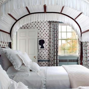 Girls canopy Beds, Vintage, bedroom, Leta Austin Foster