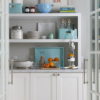 Gray Wall Paint, Contemporary, kitchen, Sherwin Williams Conservative Gray, Molly Frey Design