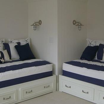 Nautical Themed Boys Room, Cottage, boy's room, Molly Frey Design