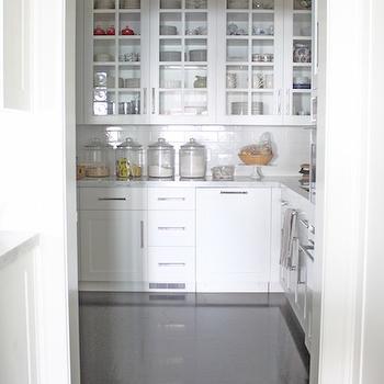 Walk In Pantry, Cottage, kitchen, Molly Frey Design