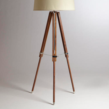 lamp tripod o black reading base with wooden wood standing light bedroom dp floor lepower shade