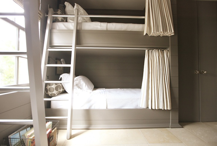 Built In Bunk Beds Cottage Boy 39 S Room Pratt And