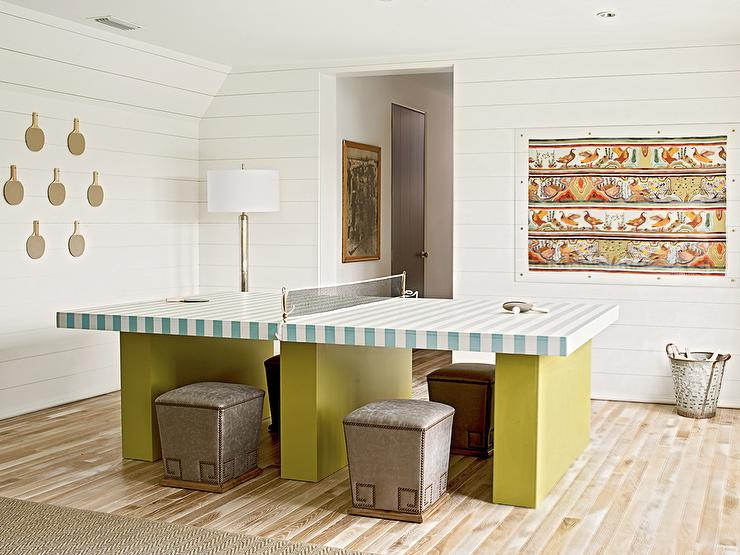 Rec Room, Cottage, media room, Pratt and Lambert April Mist, Urban Grace Interiors