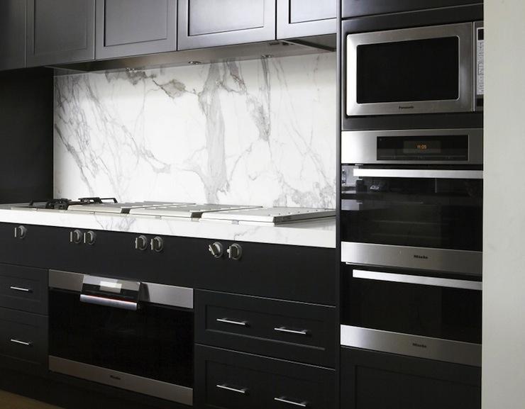 Black Kitchen Cabinets Modern Marco Meneguzzi