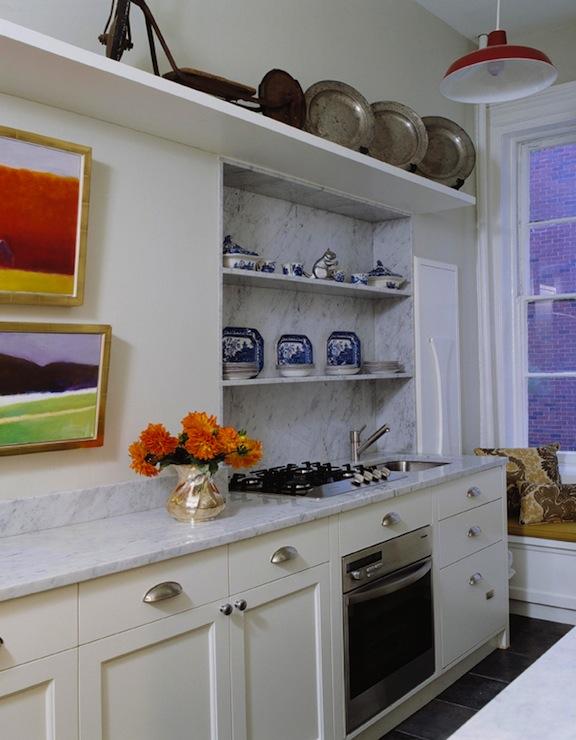 Galley Kitchen Traditional Kitchen Pappas Miron Interior Design