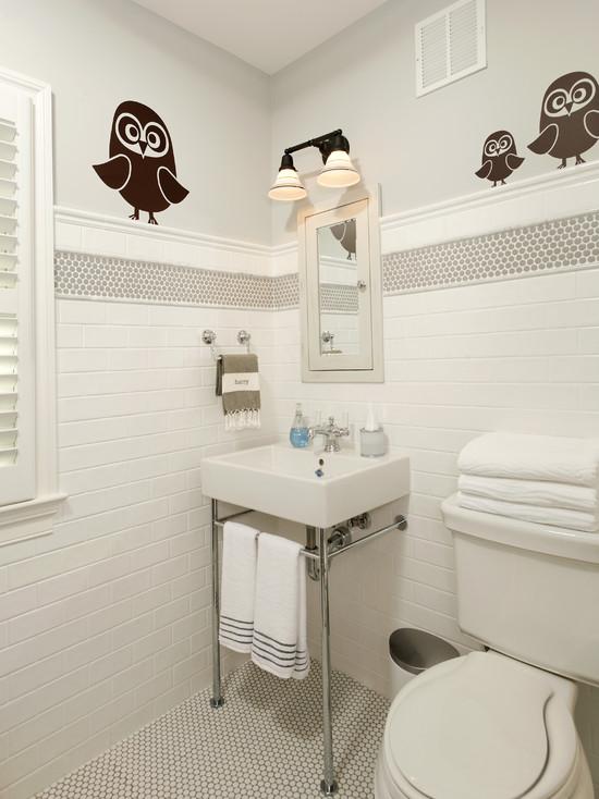 Vintage Hex Floor Vintage Bathroom Cameo Homes