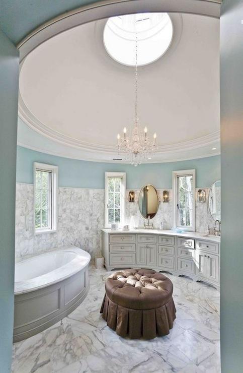Turquoise Bathroom Traditional Bathroom Herlong
