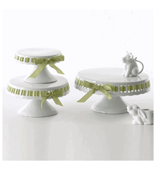 Ribbon Cake Stand Set By Two S Company Organize Com