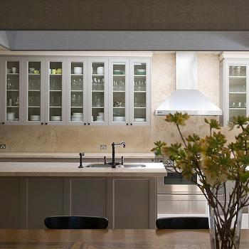 Travertine Countertops, Contemporary, kitchen, Marco Meneguzzi