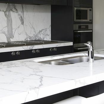 Calcutta Marble, Modern, kitchen, Marco Meneguzzi