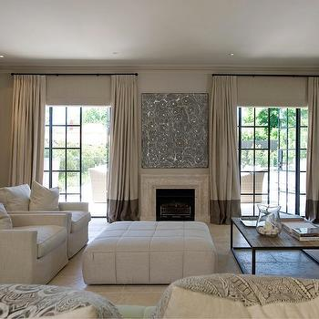 Two Tone Curtains, Transitional, living room, Marco Meneguzzi