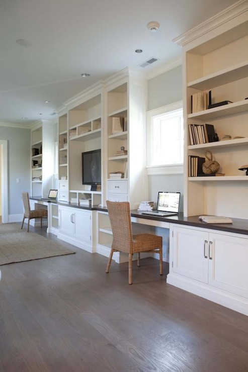 Built In Desks Design Ideas