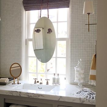 Sink in Front of Window, Contemporary, bathroom, Urban Grace Interiors