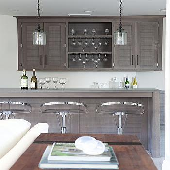 Taupe Kitchen Cabinets, Contemporary, kitchen, Milton Development