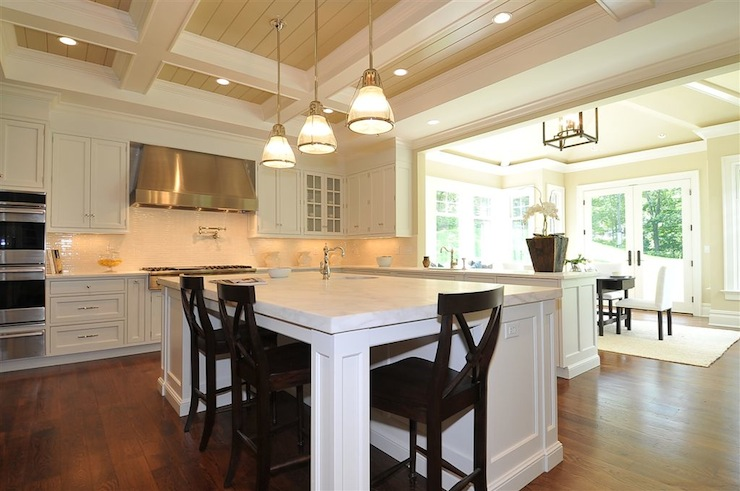 view full size & Seagrass Counter Stools - Transitional - kitchen - Blake Shaw Homes islam-shia.org