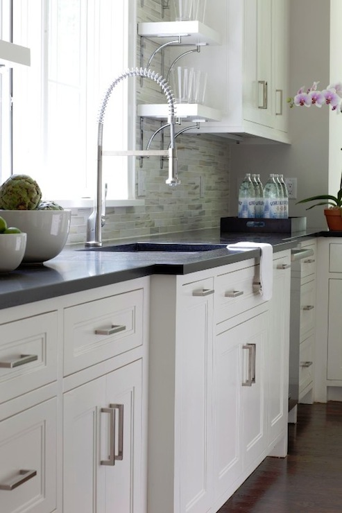 Beautiful White Inset Cabinets