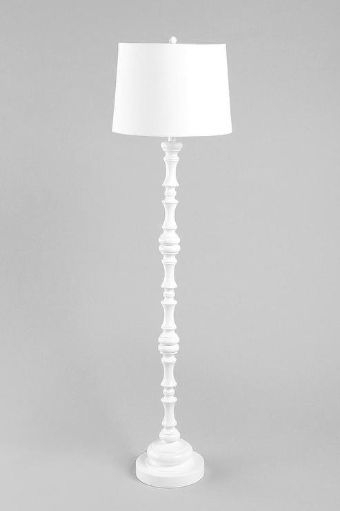 Monochromatic Floor Lamp Urban Outfitters