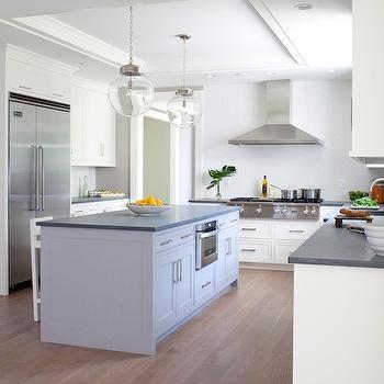 white gray kitchen 2. 2 Tone Kitchen Two Cabinets Design Ideas