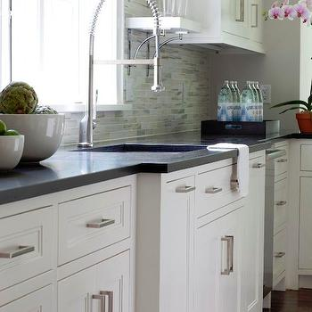 kitchen cabinet with island design. White Inset Cabinets Kitchen Island Microwave Design Ideas