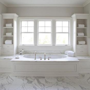 Bathroom Built Ins Design Ideas