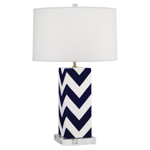 Mary Mcdonald Chevron Stripe Table Lamp Shades Of Light
