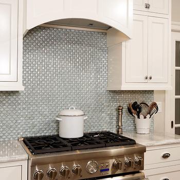 Iridescent Tile Backsplash Design Ideas