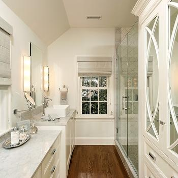 Mirrored Armoire, Transitional, bathroom, Harry Braswell Inc