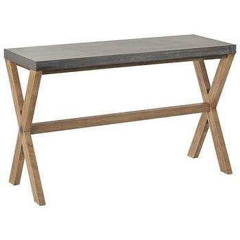 Arteriors Home Halton Foyer Table In Distressed Natural