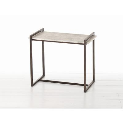 ARTERIORS Home Hollis Side Table In Distressed Charcoal Wayfair - Wayfair white side table