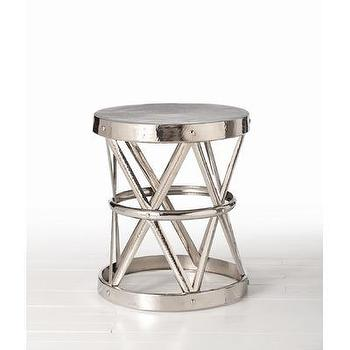 ARTERIORS Home Costello Side Table in Polished Nickel, Wayfair