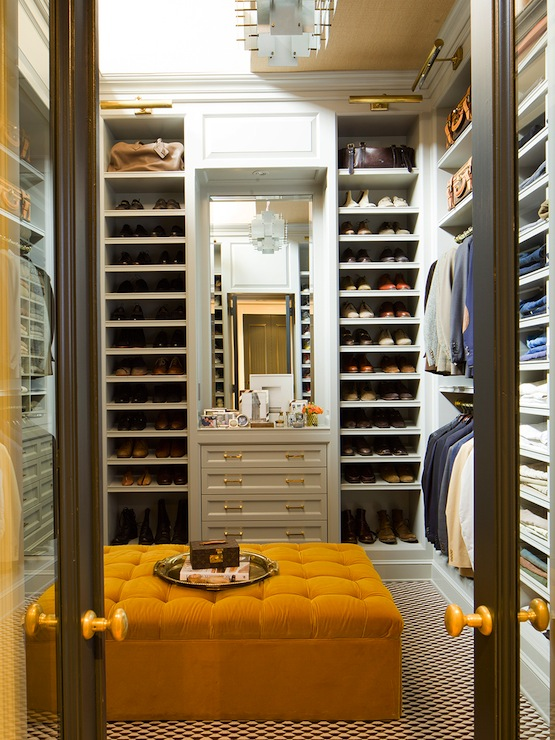 Mens walk in closet contemporary closet nate berkus - Mens walk in closet ...